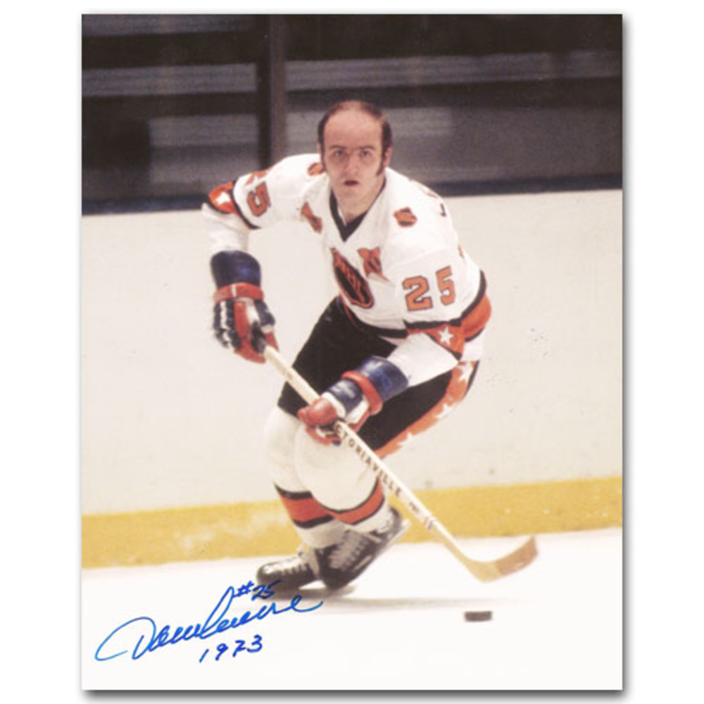 Jacques Lemaire Autographed 1973 NHL All-Star Game Photo w/1973 Inscription