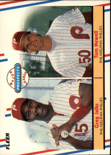 Photo of 1988 Fleer #648 Tom Newell/Greg Jelks RC