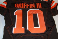 BCA - BROWNS ROBERT GRIFFIN III SIGNED AND GAME ISSUED BROWNS JERSEY (OCTOBER 9 2016)