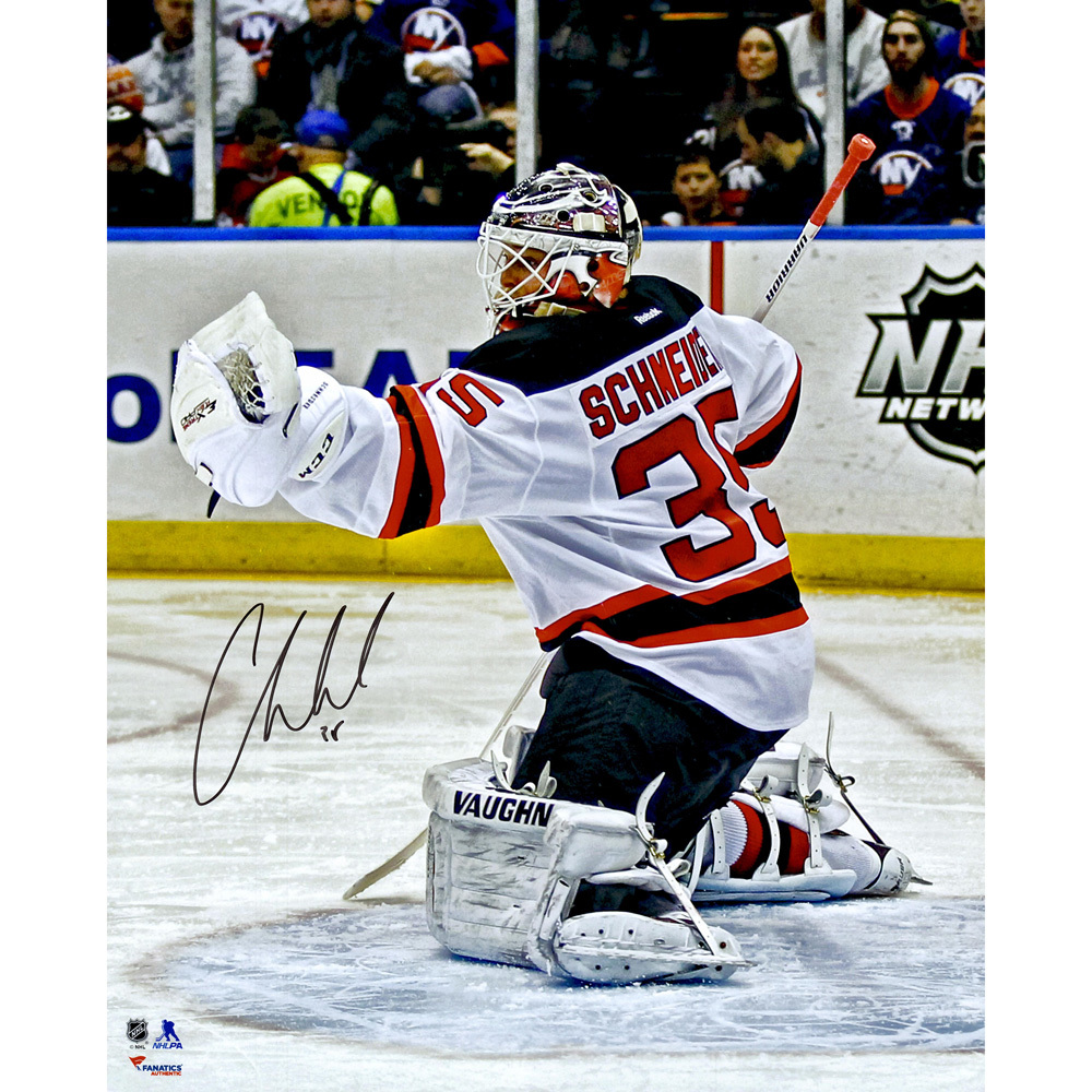 Cory Schneider New Jersey Devils Autographed Glove Save 16