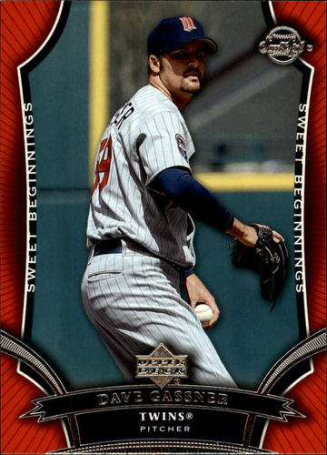 Photo of 2005 Sweet Spot #107 Dave Gassner SB RC
