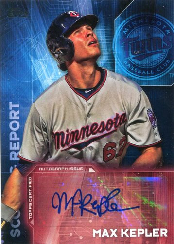 Photo of 2016 Topps Scouting Report Autographs #SRAMK Max Kepler UPD