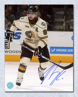 Nazem Kadri London Knights Autographed CHL 8x10 Photo