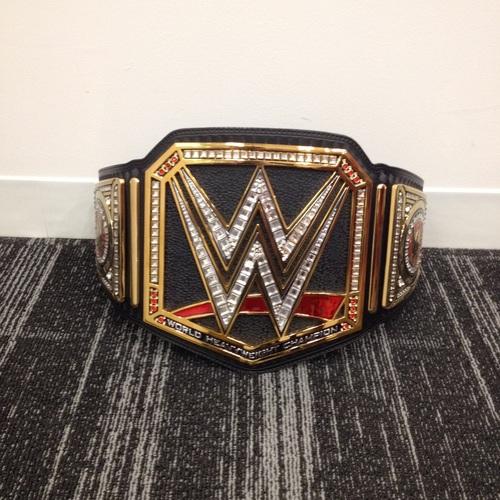 Wwe World Heavyweight Championship Belt 2014 Brock Lesnar Brock Lesnar SI...
