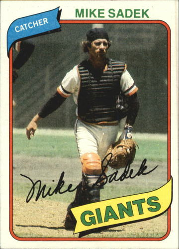 Photo of 1980 Topps #462 Mike Sadek DP