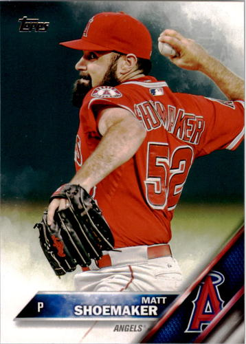 Photo of 2016 Topps #213 Matt Shoemaker