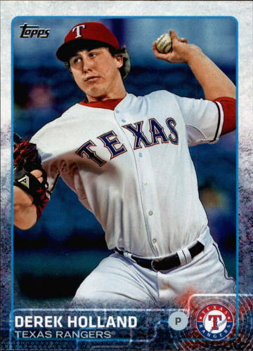 Photo of 2015 Topps #357 Derek Holland