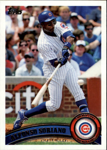 Photo of 2011 Topps #356 Alfonso Soriano
