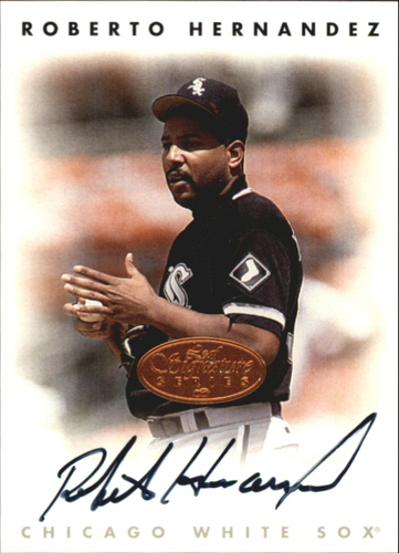Photo of 1996 Leaf Signature Autographs #100 Roberto Hernandez