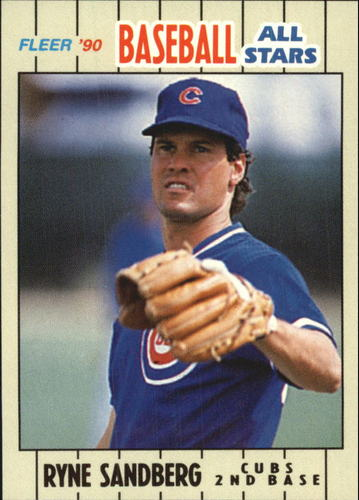 Photo of 1990 Fleer Baseball All-Stars #32 Ryne Sandberg
