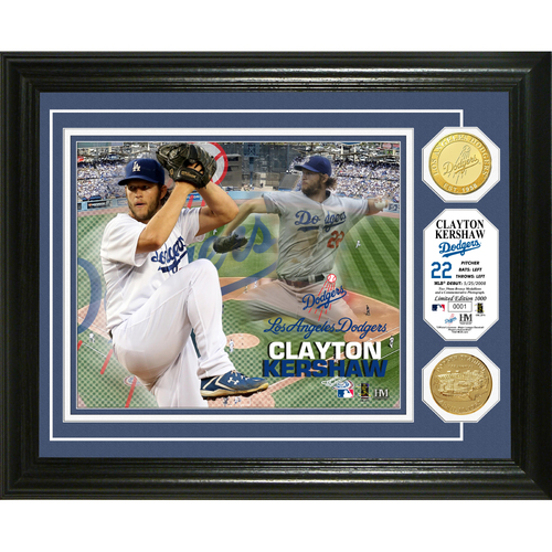 Photo of Serial #1!  Clayton Kershaw Photo Mint
