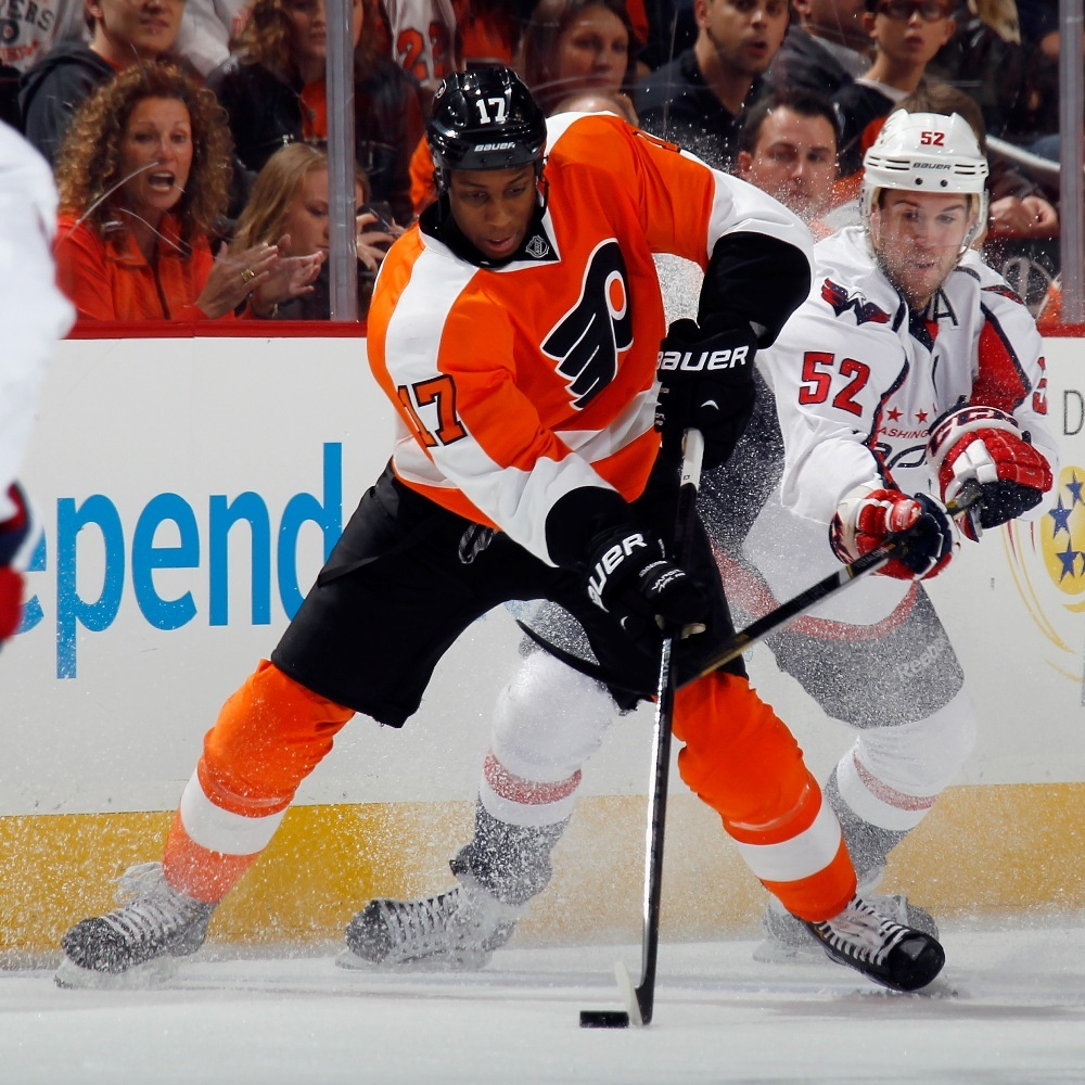Flyers Charities Stick Auction: Wayne Simmonds Game-Used Signed Stick-Philadelphia Flyers