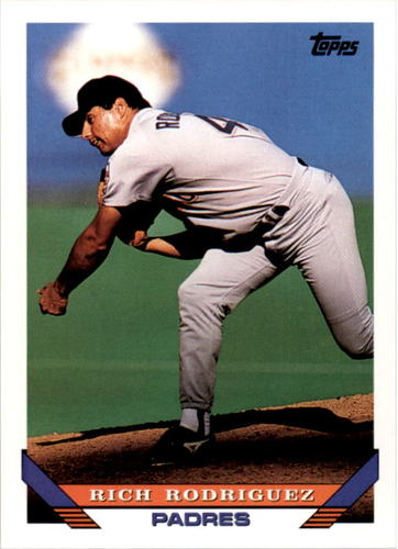 Photo of 1993 Topps #693 Rich Rodriguez