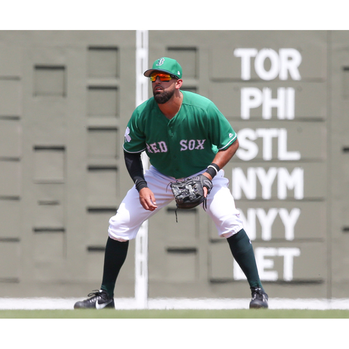 Photo of Red Sox Foundation St. Patrick's Day Jersey Auction - Deven Marrero Game-Used & Autographed Jersey