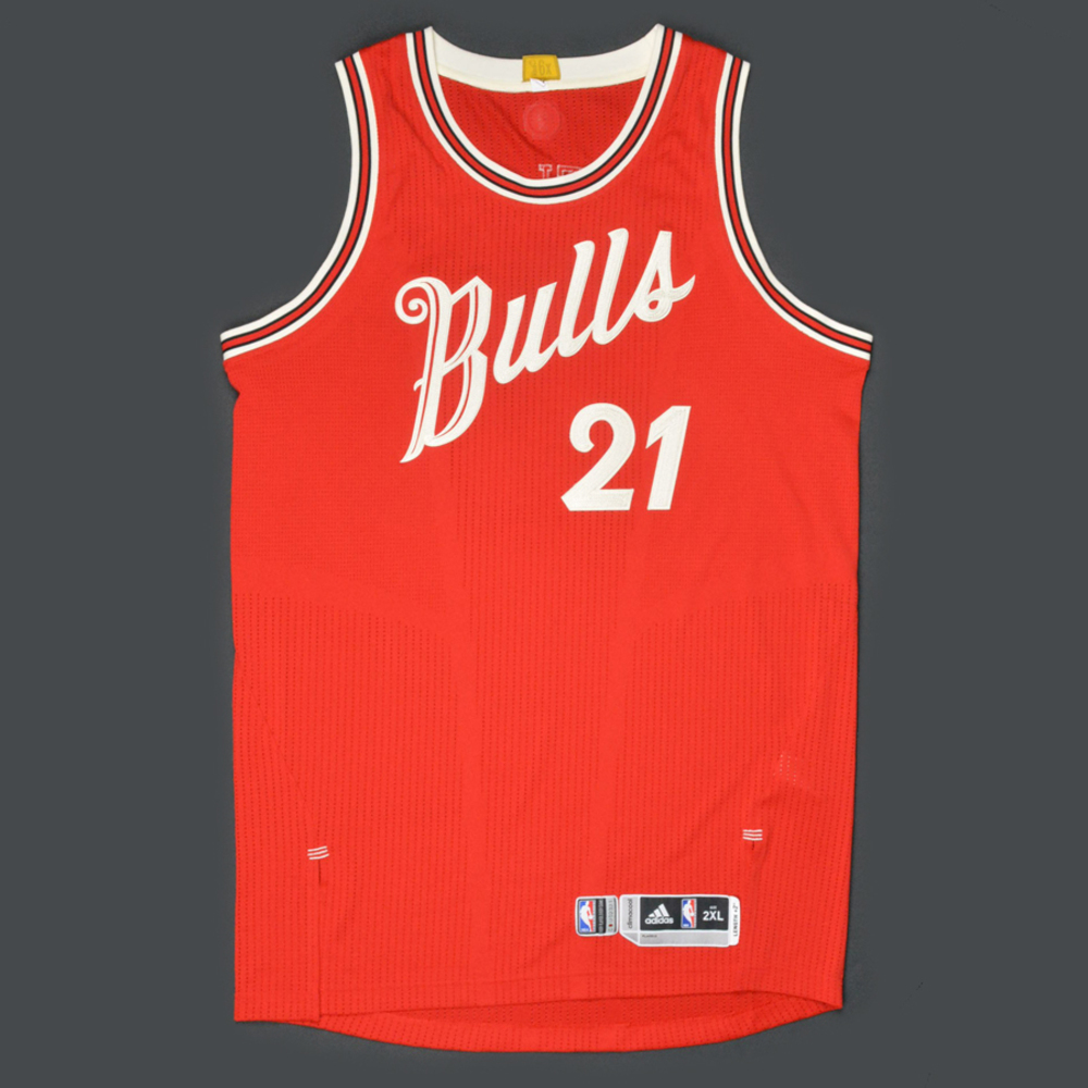 Jimmy Butler - Chicago Bulls - Game-Worn Jersey - NBA Christmas Day ...