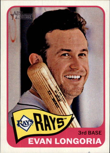 Photo of 2014 Topps Heritage #461A Evan Longoria SP