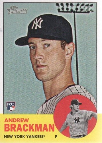 Photo of 2012 Topps Heritage #38 Andrew Brackman RC