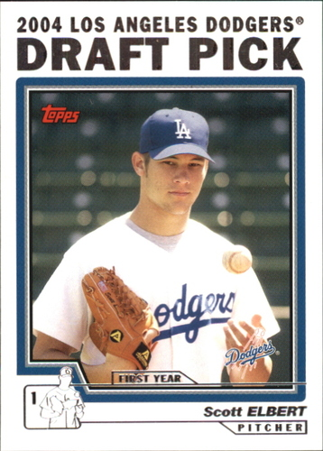 Photo of 2004 Topps Traded #T79 Scott Elbert DP RC