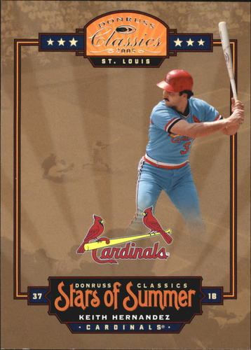 Photo of 2005 Donruss Classics Stars of Summer #15 Keith Hernandez