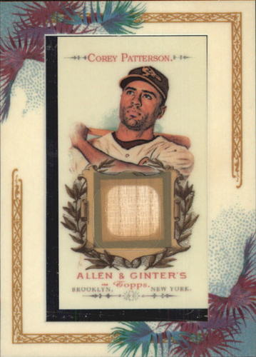 Photo of 2007 Topps Allen and Ginter Relics #CP Corey Patterson Bat F