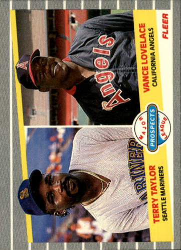 Photo of 1989 Fleer #651 Terry Taylor RC/Vance Lovelace