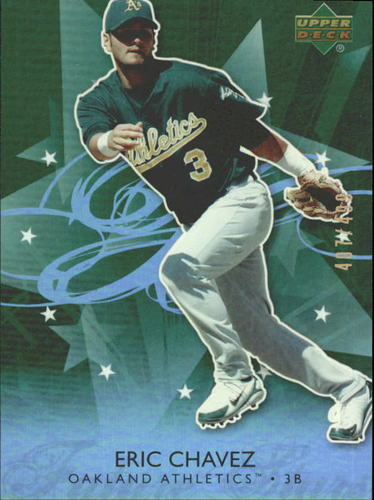 Photo of 2006 Upper Deck Future Stars Green #50 Eric Chavez /499