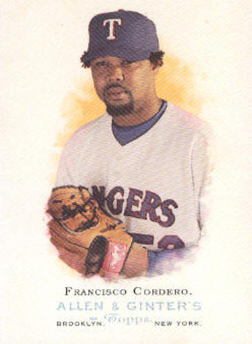 Photo of 2006 Topps Allen and Ginter #177 Francisco Cordero