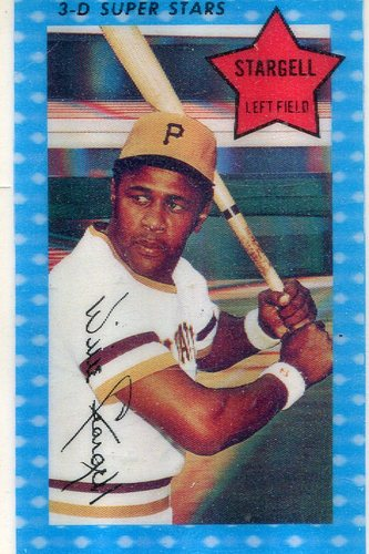 Photo of 1971 Kellogg's #68 Willie Stargell -- Hall of Famer Pirates
