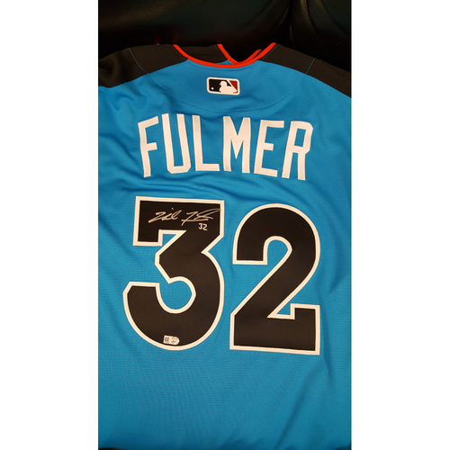 Photo of Michael Fulmer 2017 Major League Baseball Workout Day/Home Run Derby Autographed Jersey