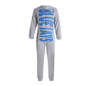 Toronto Blue Jays Unisex Union Suit Grey by Concepts Sports