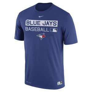 Toronto Blue Jays Authentic Collection Legend Team Issue T-Shirt by Nike