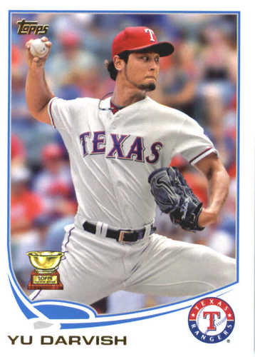 Photo of 2017 Topps Update All Rookie Cup #ARC46 Yu Darvish