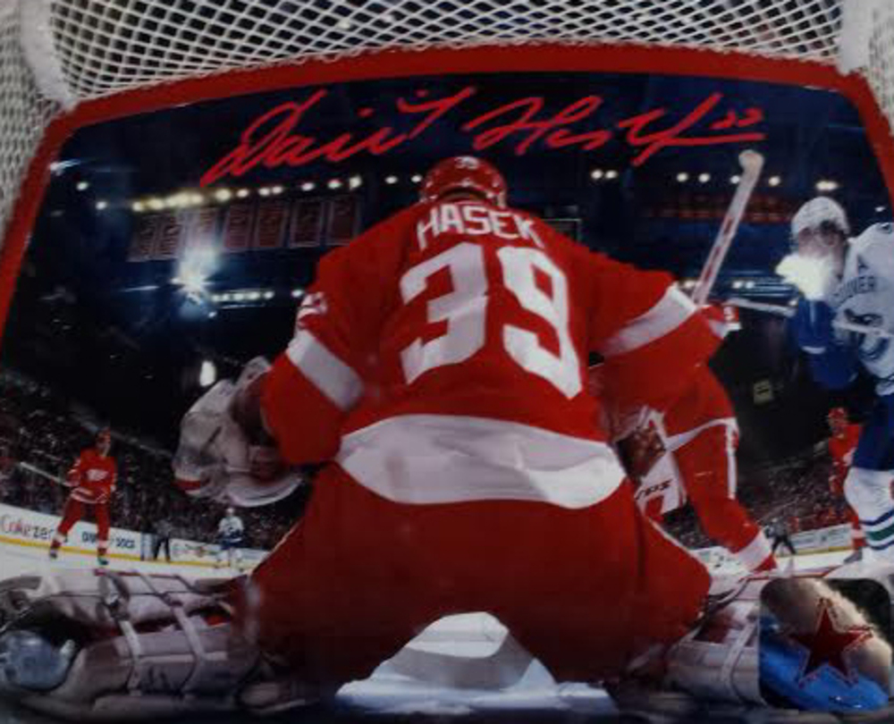 Dominik Hasek Detroit Red Wings