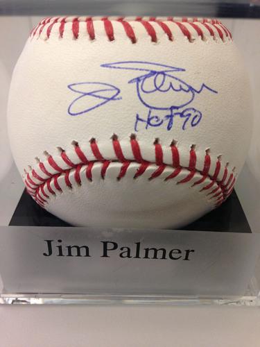 "Photo of Baseball Assistance Team: Jim Palmer ""HOF 90"" Autographed Baseball"