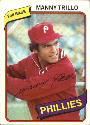 Photo of 1980 Topps #90 Manny Trillo