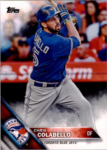 Photo of 2016 Topps #214 Chris Colabello