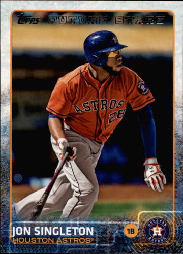 Photo of 2015 Topps #358 Jon Singleton FS