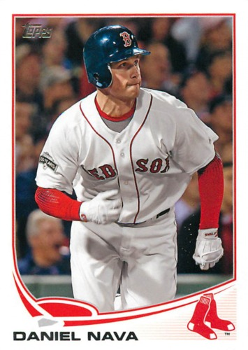 Photo of 2013 Topps #66 Daniel Nava