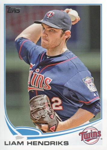 Photo of 2013 Topps #590 Liam Hendriks