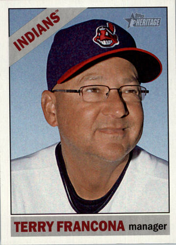 Photo of 2015 Topps Heritage #183 Terry Francona