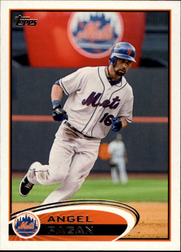 Photo of 2012 Topps #191 Angel Pagan