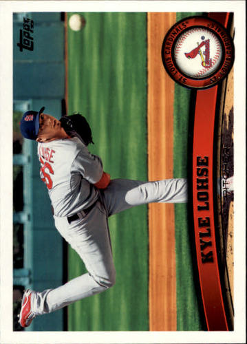 Photo of 2011 Topps #553 Kyle Lohse