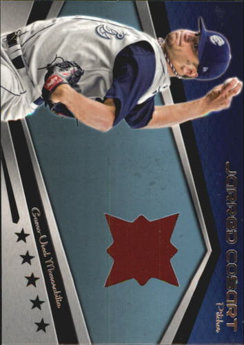 Photo of 2012 Topps Pro Debut Minor League Materials #JC Jarred Cosart