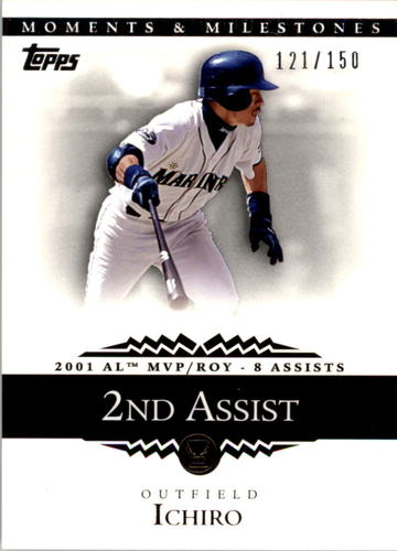 Photo of 2007 Topps Moments and Milestones #11-2 Ichiro Suzuki/Assist 2