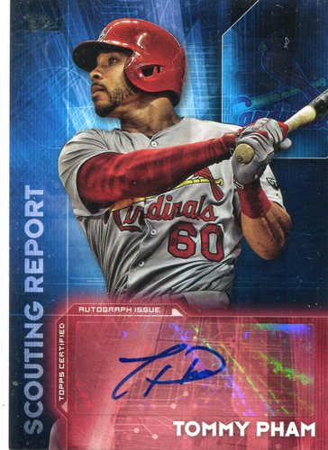 Photo of 2016 Topps Scouting Report Autographs #SRATP Tommy Pham UPD