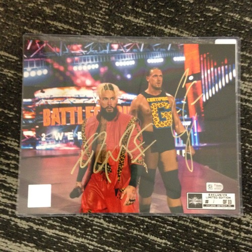 Photo of Enzo & Big Cass SIGNED 8 x 10 Limited Edition WrestleMania 33 Photo (#1 of 33)
