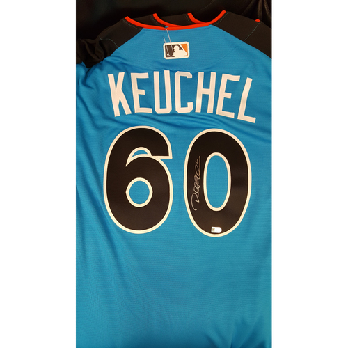 Photo of Dallas Keuchel 2017 Major League Baseball Workout Day/Home Run Derby Autographed Jersey
