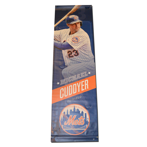 Michael Cuddyer #23 - Citi Field Banner - 2015 Season