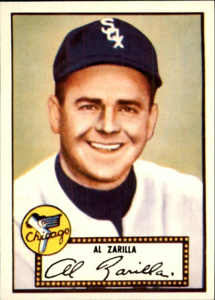 1983 Topps 1952 Reprint #70 Al Zarilla