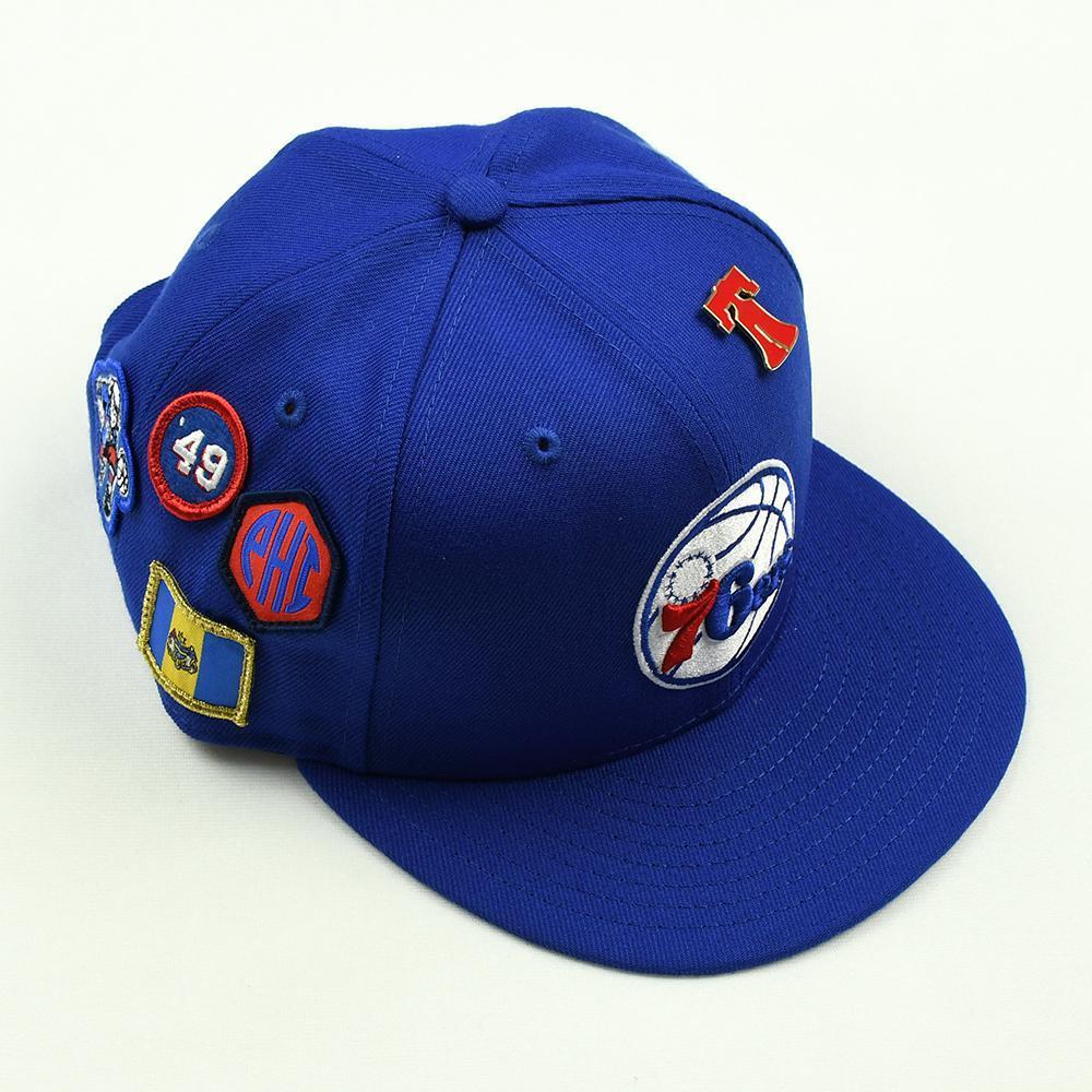 Zhaire Smith - Philadelphia 76ers - 2018 NBA Draft Class - Draft Night Photo-Shoot Worn Hat